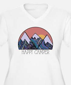 Happy Camper Plus Size T-Shirt
