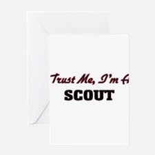Trust me I'm a Scout Greeting Cards