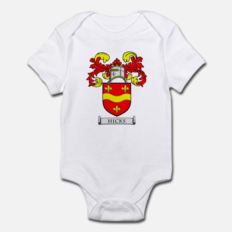 HICKS Coat of Arms Infant Bodysuit