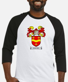 HICKS Coat of Arms Baseball Jersey
