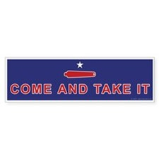 Battle of Gonzales Bumper Bumper Sticker