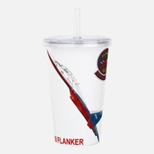 Aircraft Acrylic Double-wall Tumbler