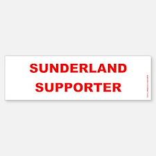 SAFC Sticker - Sunderland Supporter - Red on White