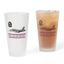 Funny Squadron Drinking Glass
