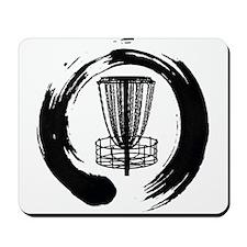 Zen Disc Golf Logo Mousepad