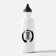 Zen Disc Golf Logo Water Bottle