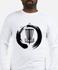 Zen Disc Golf Logo Long Sleeve T-Shirt
