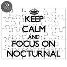 Keep Calm and focus on Nocturnal Puzzle