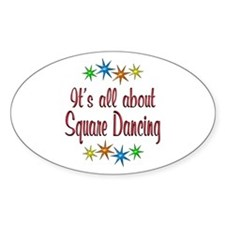 About Square Dancing Decal
