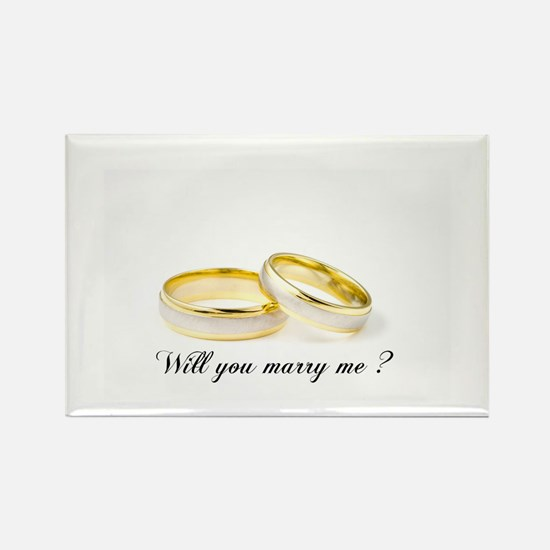 wedding bands Will you marry me? Magnets