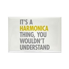 Its A Harmonica Thing Rectangle Magnet