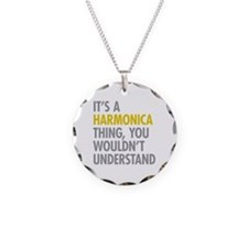 Its A Harmonica Thing Necklace