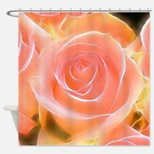 Rose 2014-0932 Shower Curtain