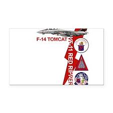 Tomcat Rectangle Car Magnet