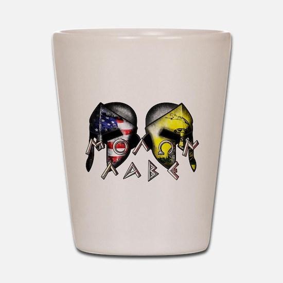 Molon Labe by American Patriots Shot Glass