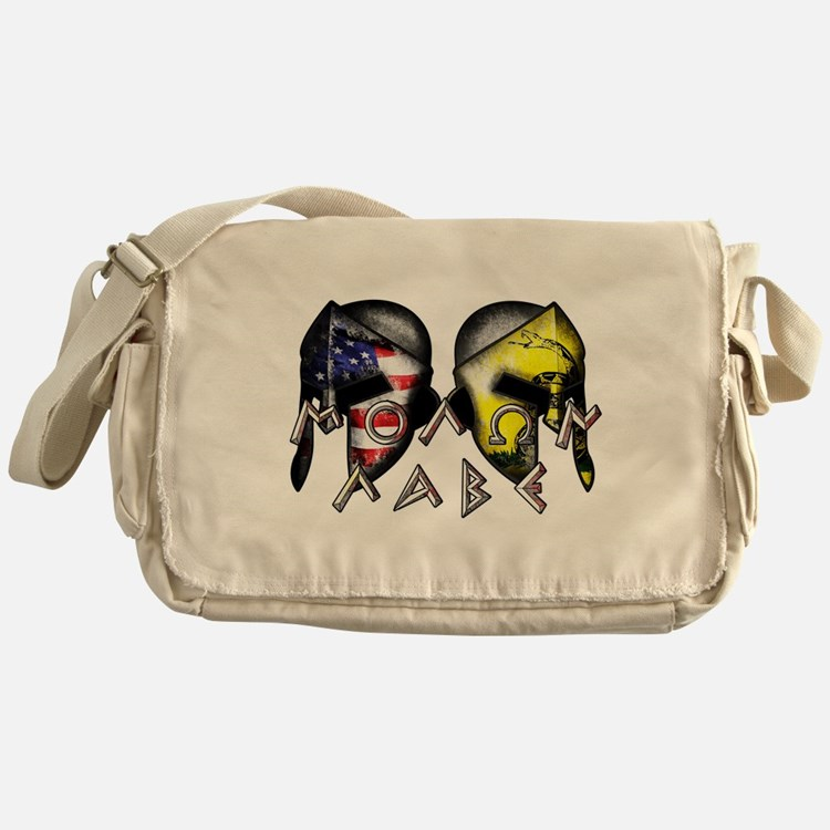 Molon Labe by American Patriots Messenger Bag