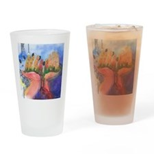 All Of Creation Drinking Glass