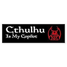 Cthulhu Bumper Bumper Sticker
