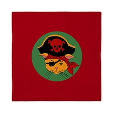 Pirate Kitty Queen Duvet