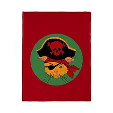 Pirate Kitty Twin Duvet