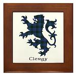 Lion - Clergy Framed Tile