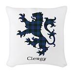 Lion - Clergy Woven Throw Pillow