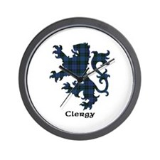 Lion - Clergy Wall Clock