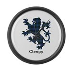 Lion - Clergy Large Wall Clock