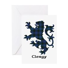 Lion - Clergy Greeting Card