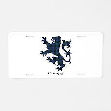 Lion - Clergy Aluminum License Plate