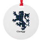 Lion - Clergy Round Ornament