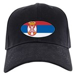 Serbia Flag Black Cap