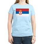 Serbia Flag Women's Light T-Shirt
