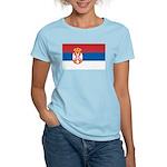 Serbia Flag Women's Light T-Shirt