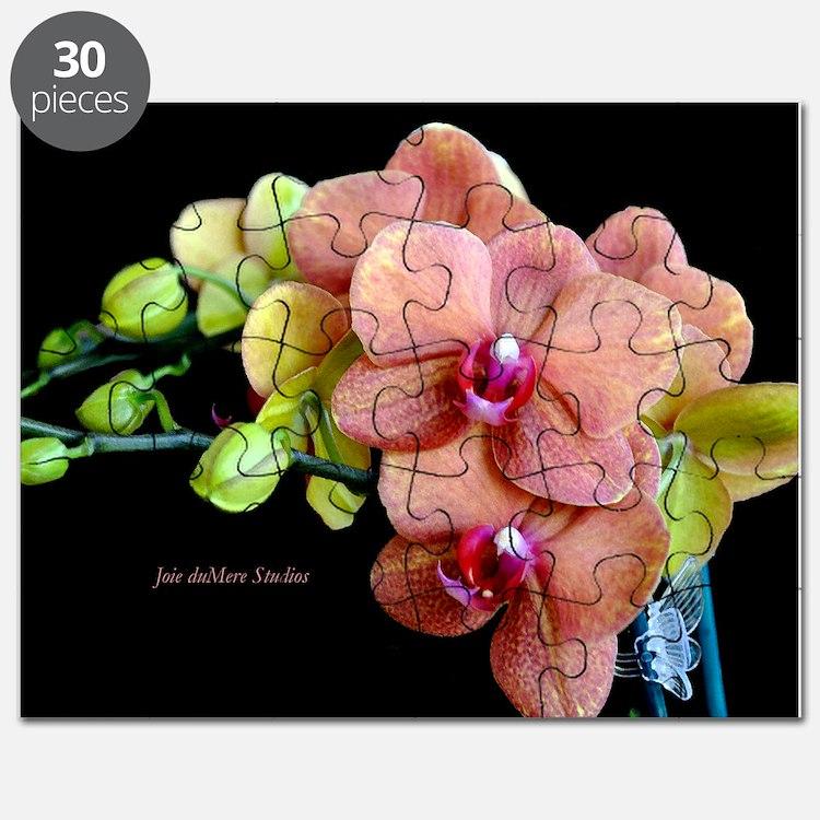 Orange Orchids 2 Puzzle