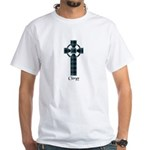 Cross - Clergy White T-Shirt