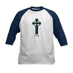 Cross - Clergy Kids Baseball Jersey