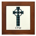 Cross - Clergy Framed Tile