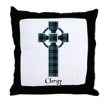 Cross - Clergy Throw Pillow