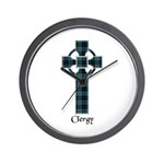 Cross - Clergy Wall Clock