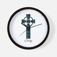 Cross - Clergy Wall Clock