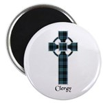 Cross - Clergy Magnet