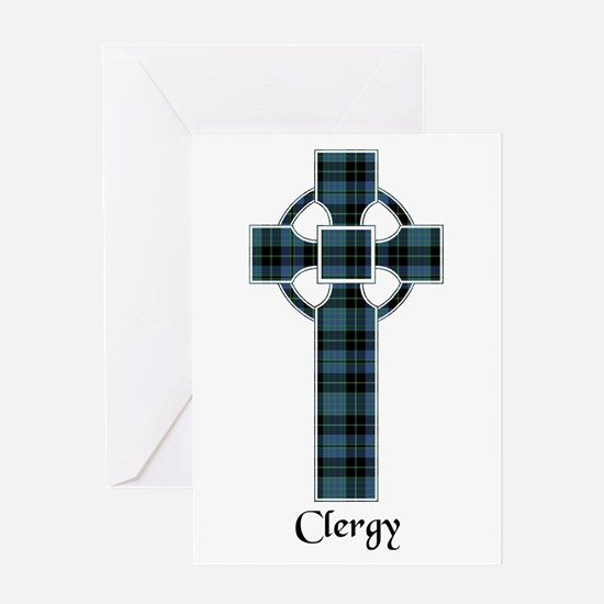 Cross - Clergy Greeting Card