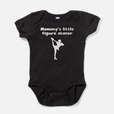 Mommys Little Figure Skater Baby Bodysuit