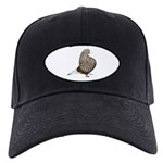 Brown Teager Pigeon Black Cap
