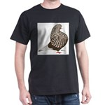 Brown Teager Pigeon Dark T-Shirt