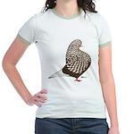 Brown Teager Pigeon Jr. Ringer T-Shirt