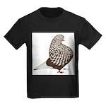 Brown Teager Pigeon Kids Dark T-Shirt
