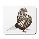 Brown Teager Pigeon Mousepad