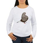Brown Teager Pigeon Women's Long Sleeve T-Shirt